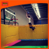 Indoor Basketball Trampoline Park with Safety Enclosure for Sale