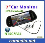 "7"" Car Rearview Mirror LCD Monitor with USB/SD/MP5/ Bluetooth M705h"