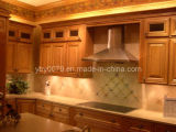 Oak Solid Wood Kitchen Cabinet/ Kitchen Furniture (JX-KCSW034)