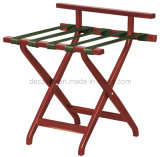 Solid Wooden Luggage Rack (DA13)