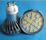 GU10 220V 5050 20SMD White LED Spotlight