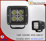 3inch 16W Mini Auxiliary LED Working Light for Truck 4X4 Offroad
