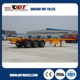 Obt Brand Tri-Axle Heavy Duty 40 FT Container Skeletal Trailer