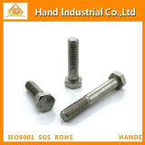 Stainless Steel 304 410 Hex Screw Hex Bolt with DIN931