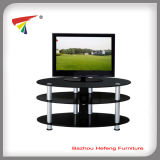 Elliptical Plasma Glass TV Stand /TV Rack (TV055)