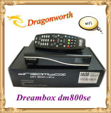 Dreambox Digital Satellite Receiver Dm800se Dm800HD Se with 300Mbps WiFi SIM A8p Can Flash Original Software