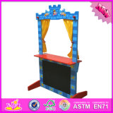 2016 Wholesale Baby Wood Puppet Theatre for Sale, Funny Kids Wood Puppet Theatre for Sale, Best Puppet Theatre for Sale W10d139