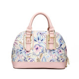Flower Printing Lady Fashion PU Leather Women Handbag (MBNO037115)