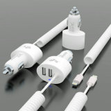 2014 New 3 Ports 4.2A Car Charger for iPhone (NSDCC117-C)