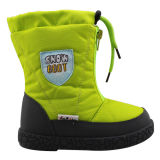 2014 Latest Design Kid's Injection Snow Boots with Water Resistance (IK0244)