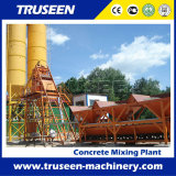 Construction Equipment Stationary Compact Concrete Mixing Plant