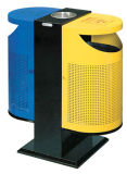 Hot Sale Steel Double Trash Can (TY-9121C)