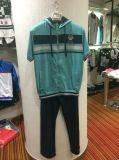 Summer Sports 2 PCS Sutis Clothes Wtih Hood and Zipper+Long Pants Fw-8816