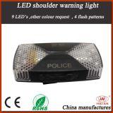 Police LED Shoulder Warning Light in Rechargeable