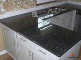 Fantastic L Shape Blue Pearl Granite Vanity Top Kitchen Countertop