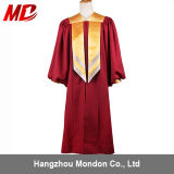 Graduation Gown with Gold Sleeve