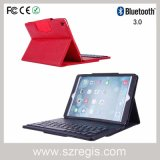 Split Leather Wireless Bluetooth 3.0 Keyboard Case for iPad