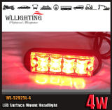 Red Surface Mounting Grille Head Light