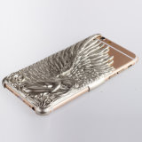 Fashion Angel Wings Electroplate Love Crazy Case Cover for iPhone 6s
