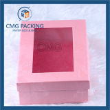 Reasonable Price Cardboard Packing Gift Box with Ribbon (CMG-PJB-095)