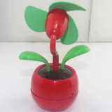 Flower Shape USB Mini Fan with Logo Printed (4021B)