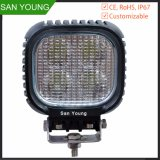 Square Bright 40W LED Driving Lights 4X4 Autos