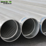 Stainless Steel 304L Water Well Drilling Wire Wrapped Continuous Slot Water Well Screens