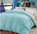 Microfiber Solid Bicolor Feather Filling Comforter