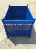 China Popular Metal Cargo Basket with Solid Wall