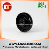 Black Nylon Wheel with Ribs