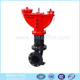 Outdoor Underground Fire Hydrant with Double Outlet
