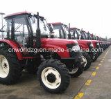 China Brand 40HP to 130HP Wheel Tractor Price