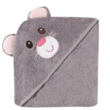 Cute Designs of Baby Hooded Bath Towel Made of Cotton