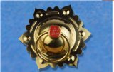 Door Knocker with Chinese Antique Style, Hexagon Plum Flower