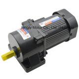 120W 110V 220V Single Phase AC Brake Speed Control Gear Motor