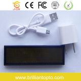 Programmable Multi Color Mini LED Name Tage