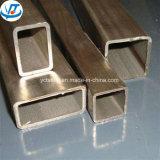 ASTM DIN En Standard 201 304 316 316ti Square Stainless Tube / Rectangular Steel Pipe