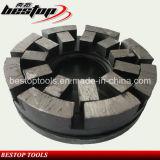 Metal Bond Satellite Grinding Wheel for Rough Granite Slabs Polishing