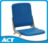 Ground Mounted Foldable Plastic Chair Without Armrest CS-Zzy-P