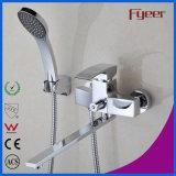 Fyeer Long Spout Bathroom Bath and Shower Mixer Faucet (QR1001D)