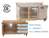 Refrigeration Counter with Glass Door