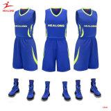 Custom Sublimation Blue Basketball Uniforms Custom Basketball Jersey Sportwear