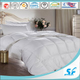 Deluxe 5 Star Hotel White Goose Feather Down Duvet/Outer 100% Cotton 280t Down Proof Fabric, Fillign