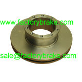 81508030026/81508030024 Man Commercial Vehicle Brake Disc