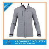 Mens Lightweight Waterproof Rain Jacket with Hood and Zip