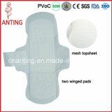 Ultra Thin Mesh Top Sheet Cheap Sanitary Napkins for Wholesale