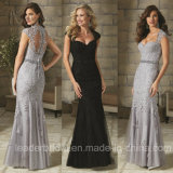 Lace Mother′s Gown Cap Sleeves Mermaid Formal Evening Dresses Z20169