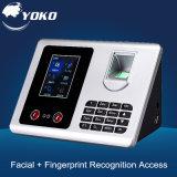 Biometric Fingerprint Face Recognition Control Time Attendance