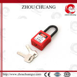 Non-Conductive Nylon Material Safe Padlock with OEM Design