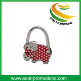 Custom Fashion Flower Foldable Purse Hook Epoxy Coated Bag Hanger